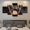 Naruto V5 Painting - 5 Piece Canvas-Canvas-TEEPEAT