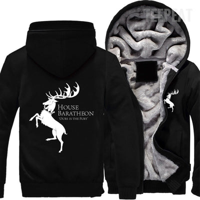 Game Of Thrones: House Baratheon Fleece Jacket-TEEPEAT
