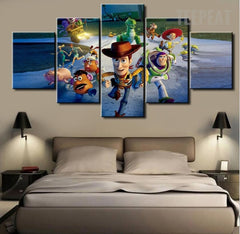 The Toy Story Painting - 5 Piece Canvas