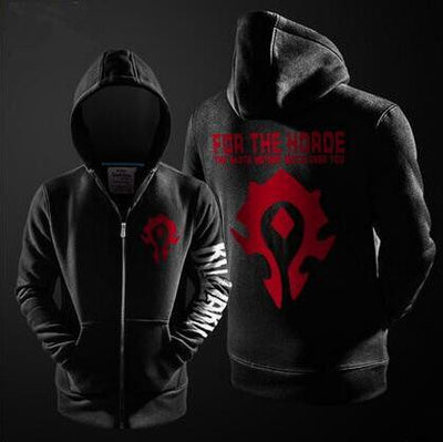Warcraft: For the Horde Hoodie-TEEPEAT