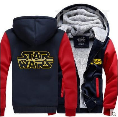 Star Wars Fleece Hoodie-TEEPEAT