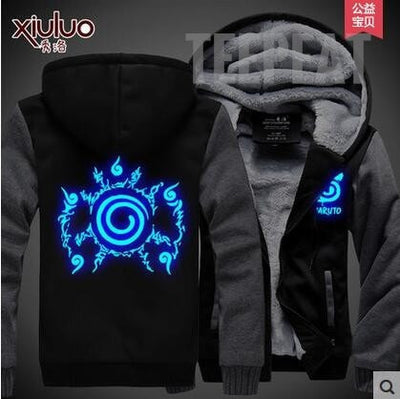 Naruto Uzumaki Fleece Hoodie-Jacket-TEEPEAT