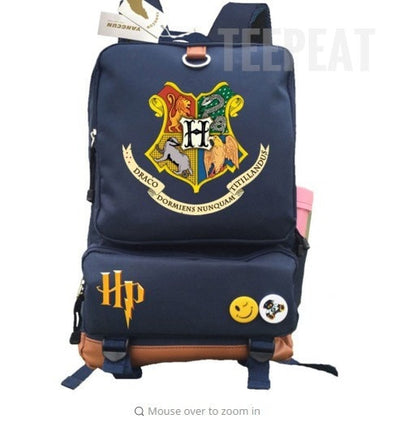 Harry Potter Backpack-Backpack-TEEPEAT