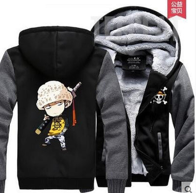 Tony Tony Chopper Fleece Hoodie-Jacket-TEEPEAT
