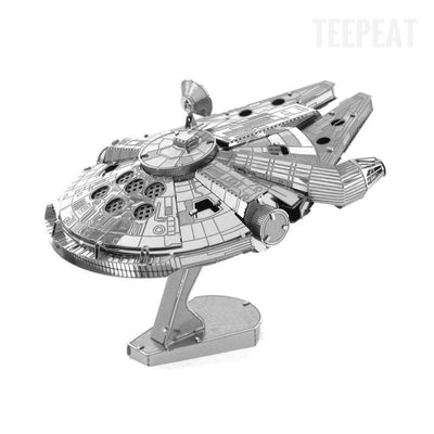 Millenium Falcon DIY 3D Metal Model Kit-TEEPEAT