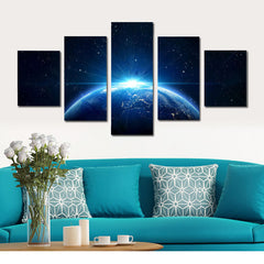 The Living Planet Painting - 5 Piece Canvas