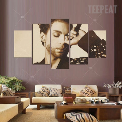 Prince Painting - 5 Piece Canvas-Canvas-TEEPEAT