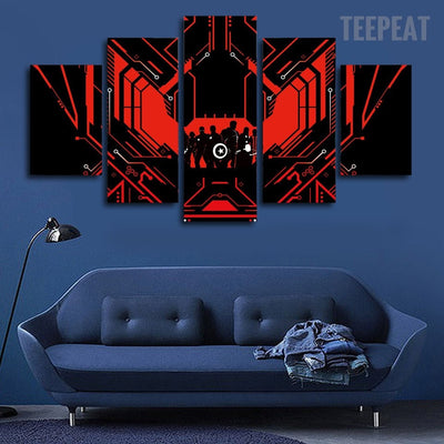 The Avengers Painting - 5 Piece Canvas-Canvas-TEEPEAT
