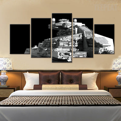 Star Wars: Imperial Star Destroyer - 5 Piece Canvas Painting-Canvas-TEEPEAT