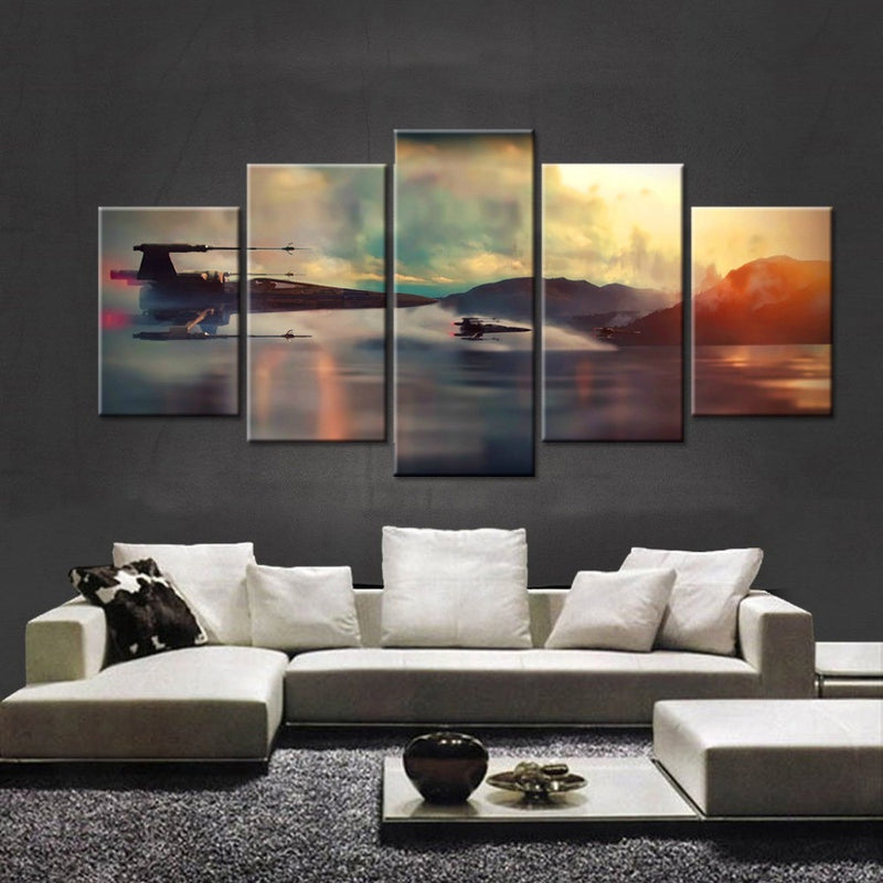 5 Piece Canvas Painting