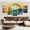 World Underneath - 5 Piece Canvas Painting-Canvas-TEEPEAT