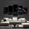 Star Wars The Force Unleashed: Ultimate Sith - 5 Piece Paiting