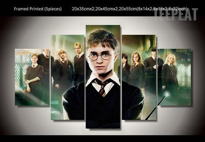 Harry Potter As A Gift To Children - 5 Piece Canvas-Canvas-TEEPEAT