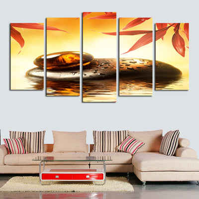 Magnificent Stone Landscape View - 5 Piece Canvas-Canvas-TEEPEAT