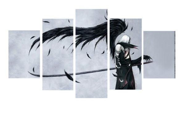 Final Fantasy - Sephiroth  5 Piece Painting
