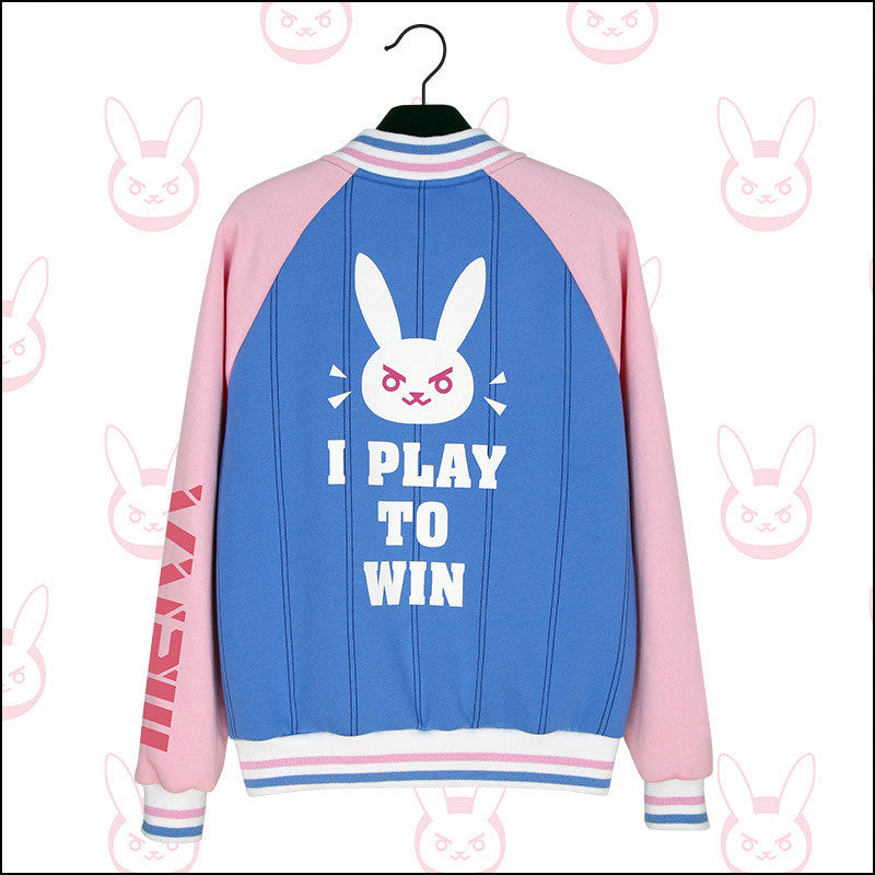 Overwatch D.VA Varsity Jacket LIMITED
