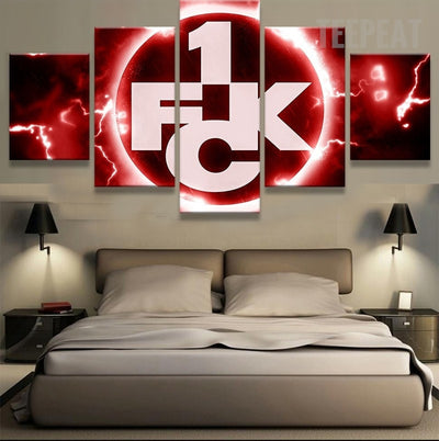 FC Kaiserslautern Sports Team - 5 Piece Canvas