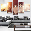 Naruto : Gaara - 5 piece canvas-Canvas-TEEPEAT