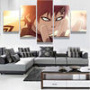 Naruto : Gaara - 5 piece canvas