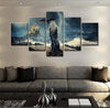 Game of Thrones Daenerys Targaryen - 5 piece canvas-Canvas-TEEPEAT