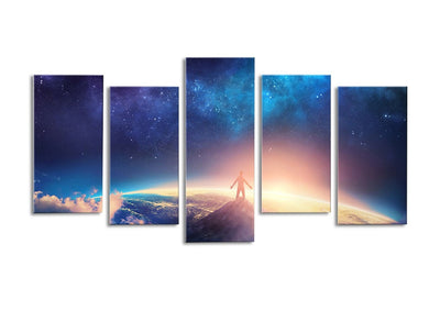 Standing on Top of the World - 5 piece canvas