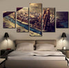 Game of Thrones: Westeros - 5 Piece Canvas Painting