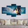 Star Wars Warrior - 5 Piece Canvas Painting
