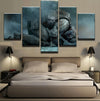 Star Wars: Kneeling Stormtropper - 5 Piece Canvas Painting