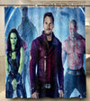 Guardians of the Galaxy  Shower Curtain With Hooks