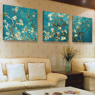 Van Gogh Classical Art Flowers -  Piece Painting