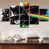 World of Music by Pink Floyd - 5 Piece Painting