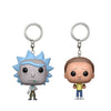 A Rick and Morty Keychain