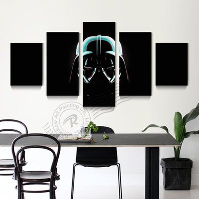 Star Wars: Darth Vader - 5 Piece Canvas Painting