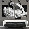 Adorable Sleeping Baby Angel - 4 Piece Painting