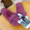 Touchscreen Elegant Evrfelan Women Winter Gloves