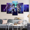 DOTA 2: Leshrac The Tormented Soul - 5 Piece Painting