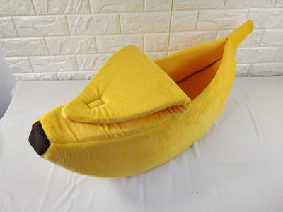 Banana Sleeping Pet Bed