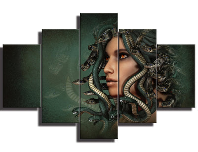 Valentina - 5 Piece Canvas Painting