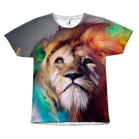 THE KING OF THE JUNGLE Tee-All Over Print-TEEPEAT