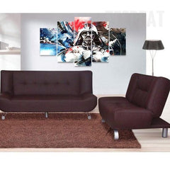 Painting Vader - 5 Piece Canvas