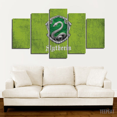 Slytherin Painting - 5 Piece Canvas-Canvas-TEEPEAT