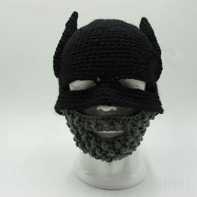 TEEPEAT Batman Cap + Beard LIMITED EDITION!
