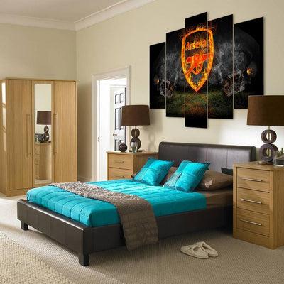 "TEEPEAT Canvas Arsenal ""Smoking"" - 5 Piece Canvas Painting"