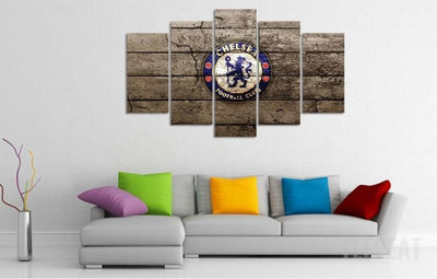 TEEPEAT Canvas Chelsea - 5 Piece Canvas Painting