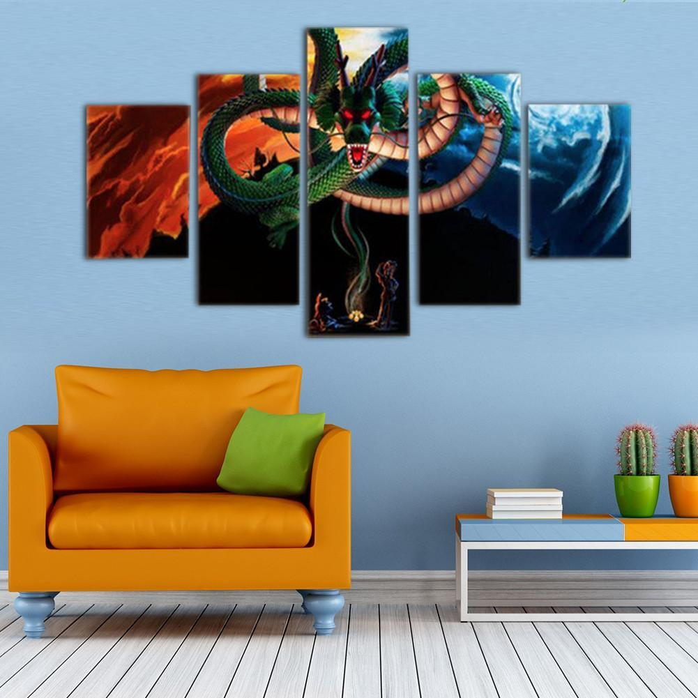 Dragon ball z shenrons wish 5 piece canvas empire prints teepeat canvas dragon ball z shenrons wish 5 piece canvas amipublicfo Images