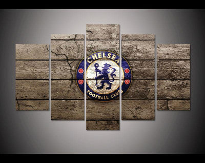 TEEPEAT Canvas Medium / Unframed Chelsea - 5 Piece Canvas Painting