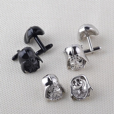 TEEPEAT Darth Vader Cuff Links