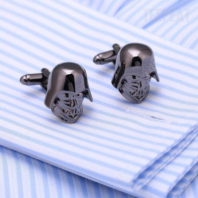 TEEPEAT Default Title Darth Vader Cuff Links