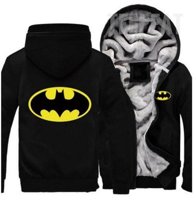 TEEPEAT Jacket 1 / S Batman Fleece Hoodie