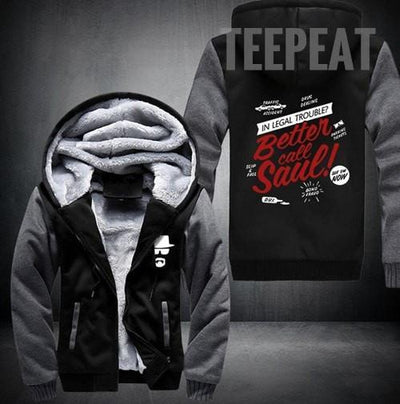 TEEPEAT Jacket 1 / XXL Better Call Saul Fleece Hoodie